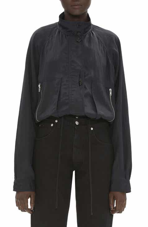 93cef749f916f Helmut Lang Parachute Short Trench Jacket