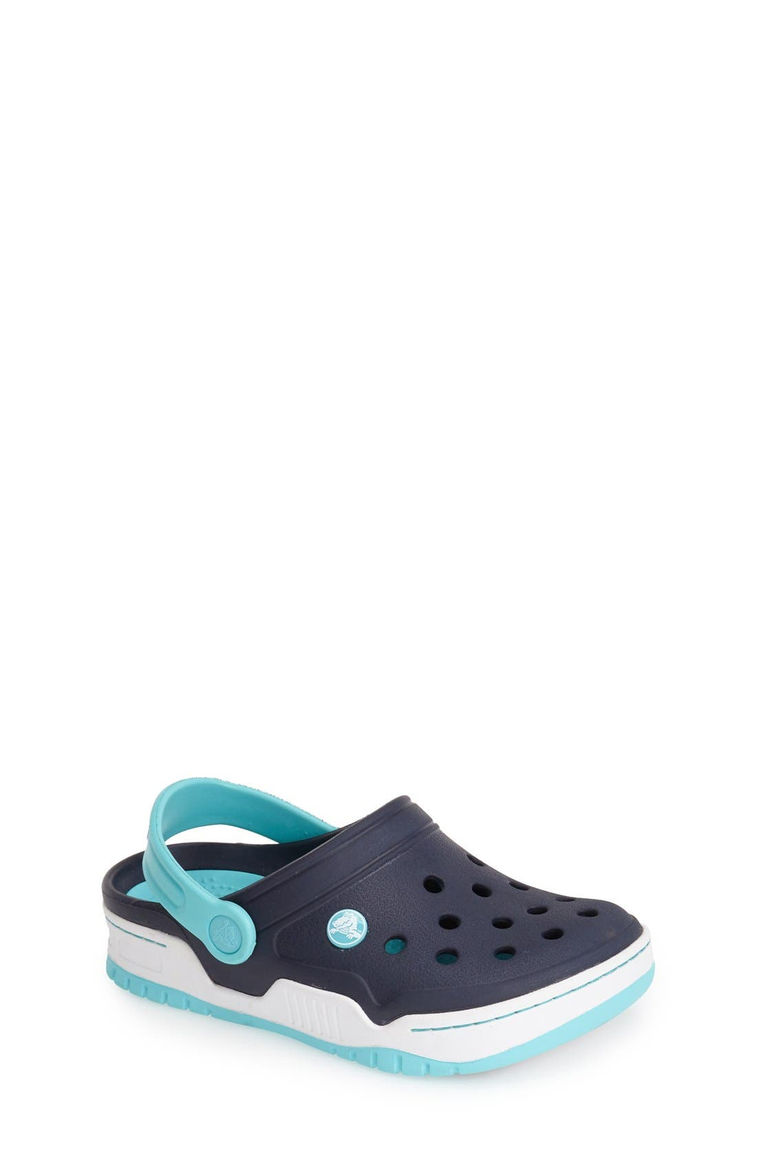 Alternate Image 1 Selected - CROCS™ 'Front Court' Sandal (Walker, Toddler & Little Kid)