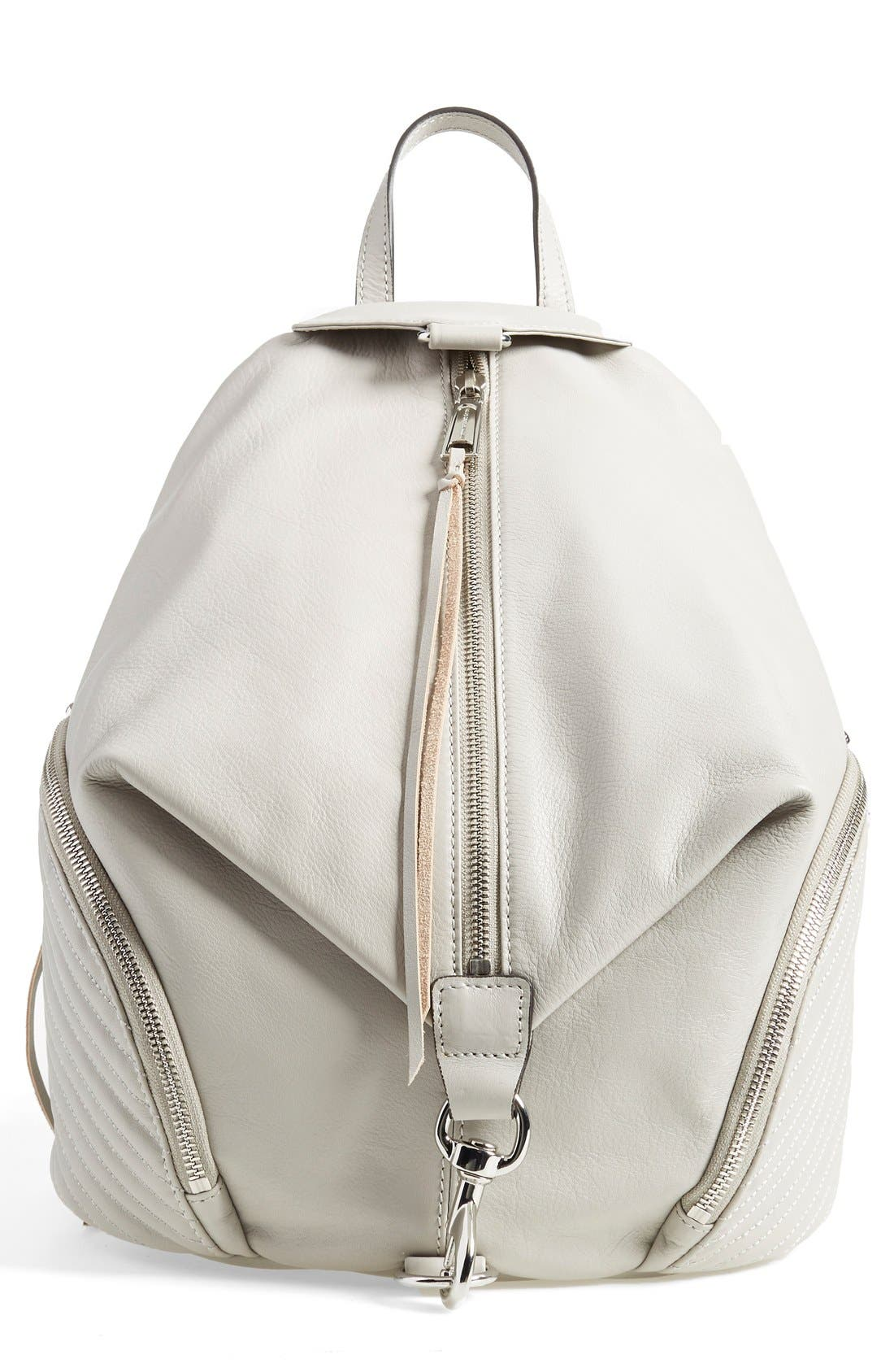 Alternate Image 1 Selected - Rebecca Minkoff 'Line Quilted Julian' Backpack