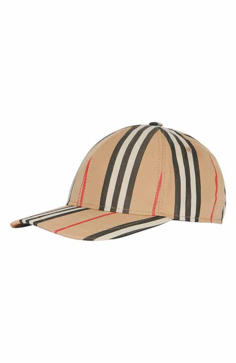Burberry Logo Icon Stripe Baseball Cap 1eb700405851