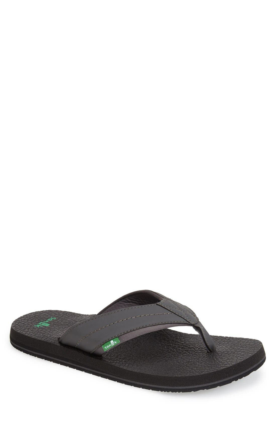 Sanuk 'Beer Cozy 2' Flip Flop (Men)