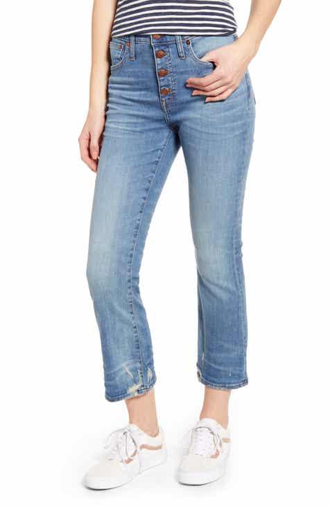 80c70b791a97 Madewell Cali Button Fly Demi Bootcut Jeans (Bess)