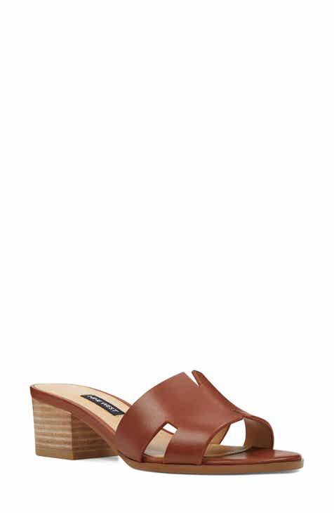 2127e0048 Nine West Aubrey Cutout Slide Sandal (Women)