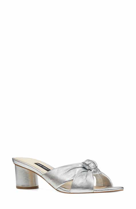 d3e6f8d9f0f3 Nine West Kayla Knot Slip-On Sandal (Women)