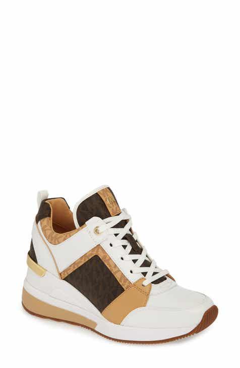 0c6696a8faf MICHAEL Michael Kors Georgie Wedge Sneaker (Women)