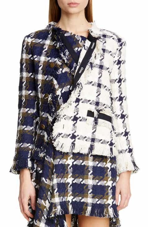 MONSE Two Tone Tweed Jacket by MONSE