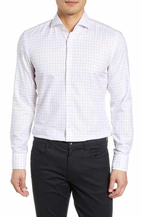 a7742d5d71b BOSS Jemerson Slim Fit Check Dress Shirt