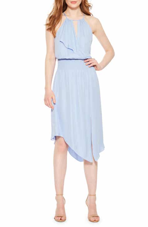 Parker Herley Asymmetrical Silk Dress by PARKER