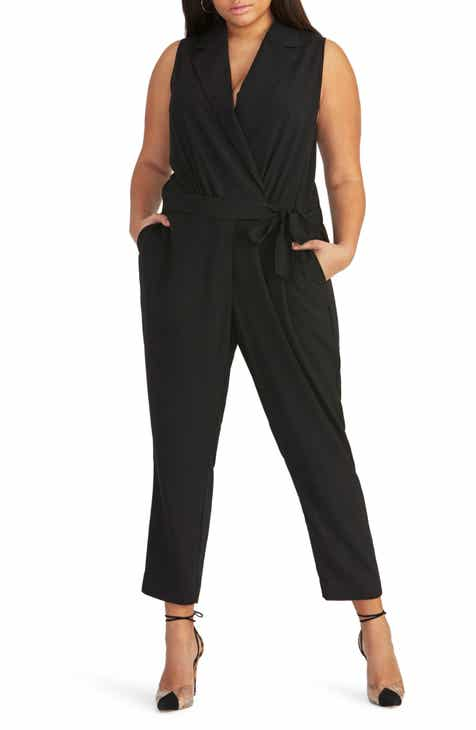 330ca9bdc33 RACHEL Rachel Roy Sheilah Tie Front Jumpsuit (Plus Size)
