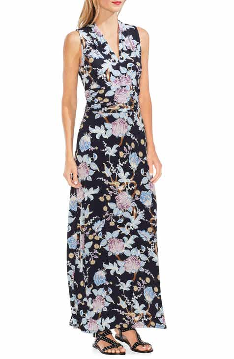 5431e83cdc Vince Camuto Poetic Blooms Sleeveless Maxi Dress