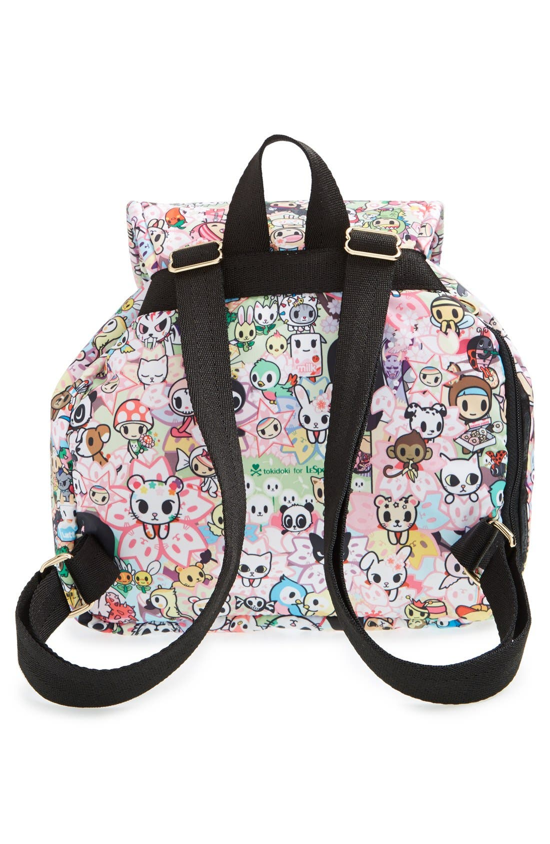 Alternate Image 4  - tokidoki x LeSportsac 'Piccolina' Nylon Backpack
