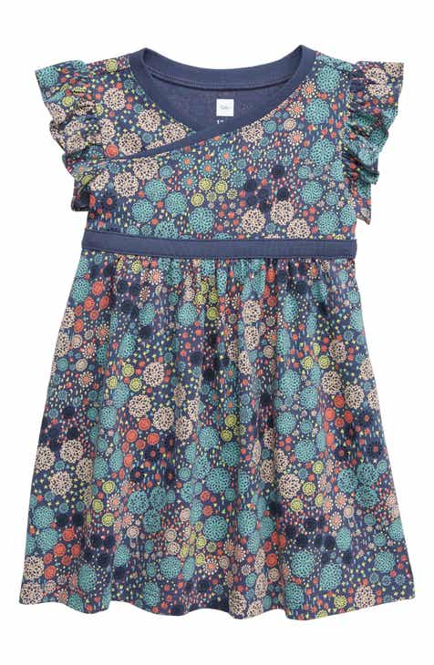 c04b4f13173 Tea Collection Wrap Dress (Baby)