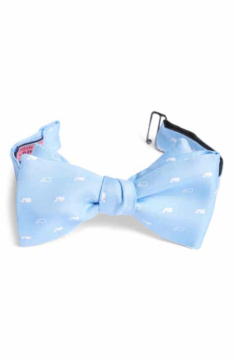 57e7b81821c7 Vineyard Vines Whale Silk Bow Tie