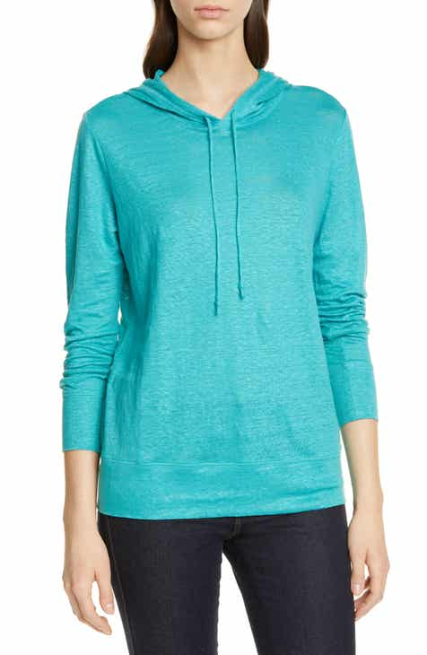 Brochu Walker Alvino Balloon Sleeve Hooded Sweater by BROCHU WALKER