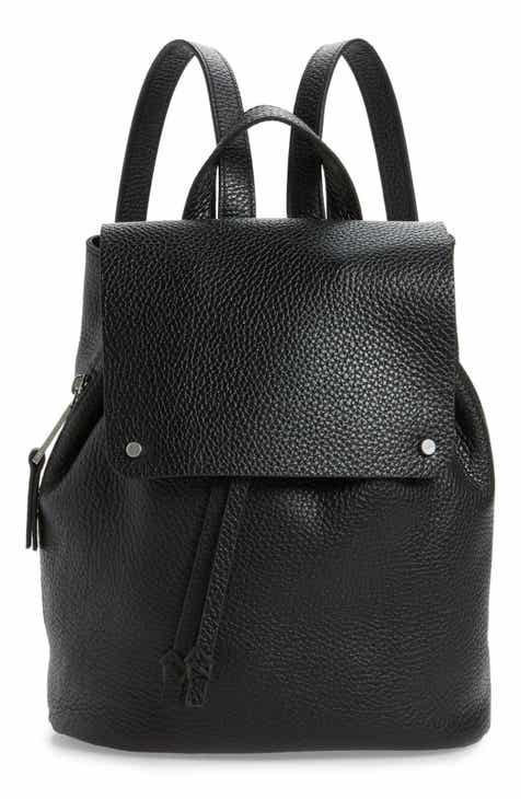 5c6d1bf5f9 Treasure   Bond Luca Grainy Leather Backpack