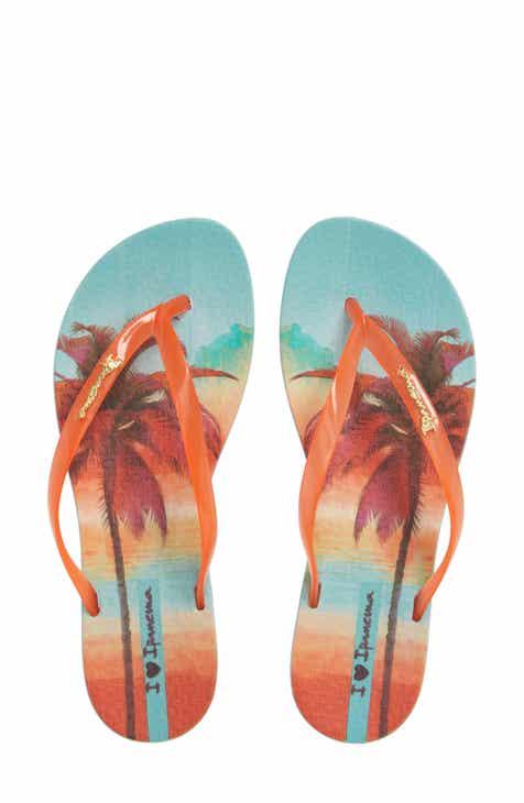 1c8c3ab60d3 Ipanema Wave Scenic Print Flip Flop (Women)