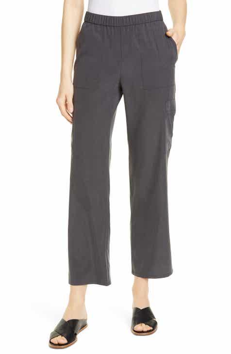 bbf9c9ba43c7 Eileen Fisher Tencel® Lyocell Blend Cargo Pants