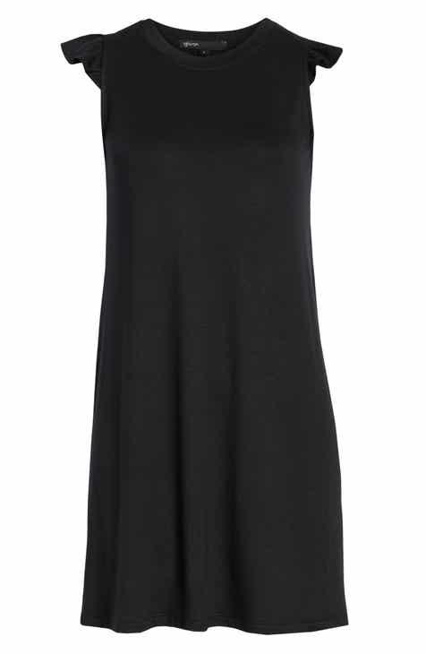 0e9ebcb4c8 Laguna Soft Jersey Ruffle Back T-Shirt Dress (Regular   Petite) (Nordstrom  Exclusive)
