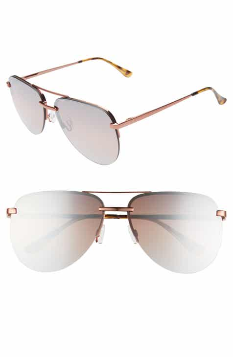 c49dac4d9b678 Quay Australia x JLO The Playa 54mm Aviator Sunglasses