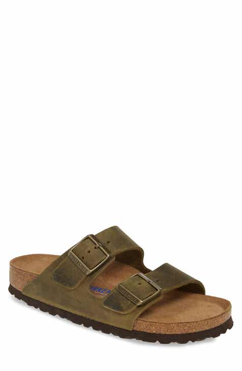 Birkenstock Arizona Soft Slide Sandal (Men)