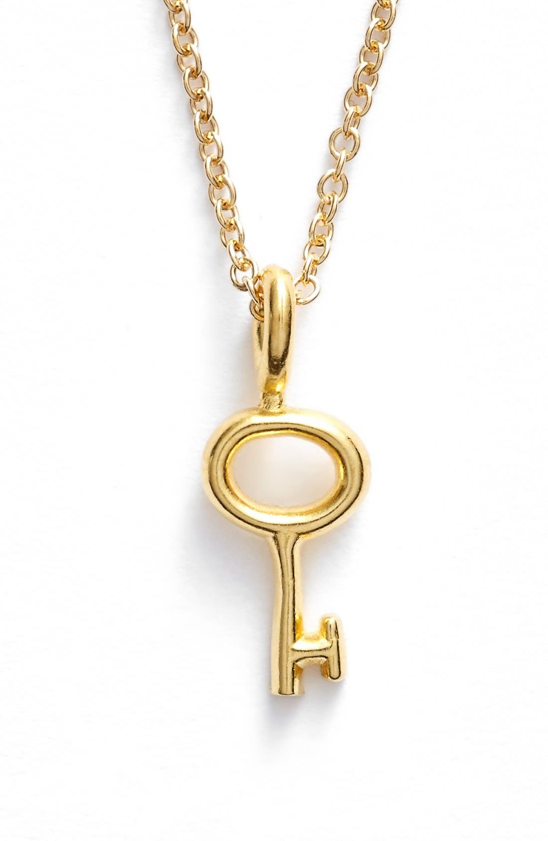 Alternate Image 2  - Dogeared 'Reminder - Unlock Your Potential' Key Pendant Necklace
