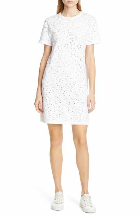 Polo Ralph Lauren Eyelet T-Shirt Dress