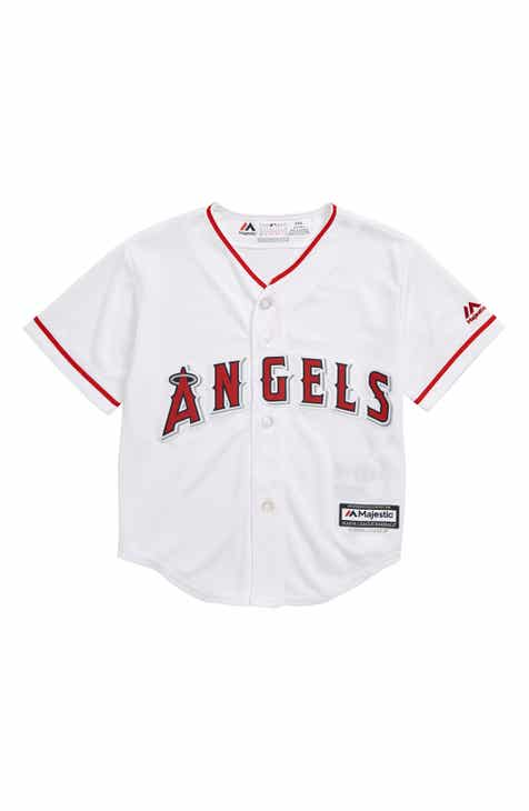 5d3d5df6b80 Majestic MLB Los Angeles Angels Replica Baseball Jersey (Toddler Boys)