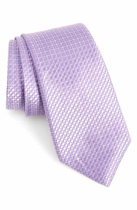 07d0d8a63a23 Nordstrom Men's Shop Milton Check Silk Tie