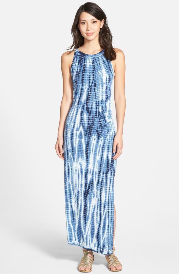 Jessica Simpson 'Kendall' Print Halter Maxi Dress | Nordstrom