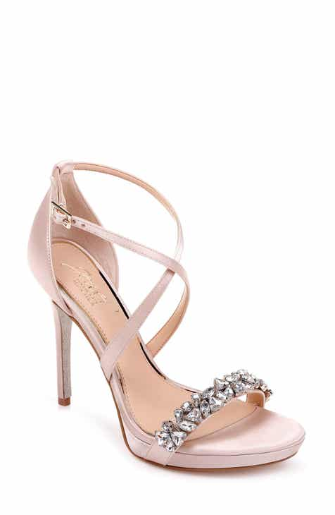 e491143c0f3 Jewel Badgley Mischka Dany Strappy Sandal (Women)