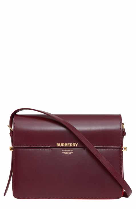 0fbf4cdc3f9a Burberry Large Horseferry Colorblock Leather Bag