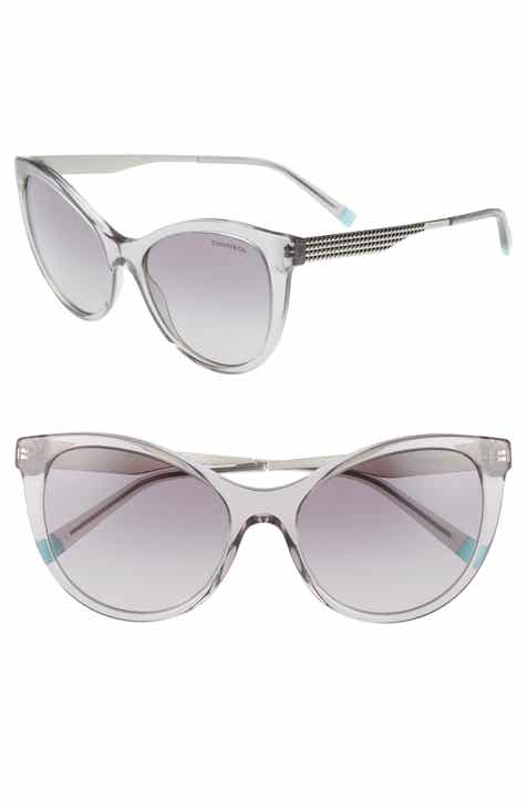 59eb3380a69 Diamond Point 55mm Gradient Cat Eye Sunglasses