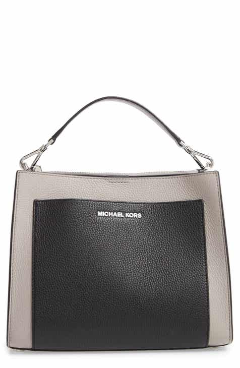 3092131a48620 MICHAEL Michael Kors Medium Gemma Colorblock Leather Satchel
