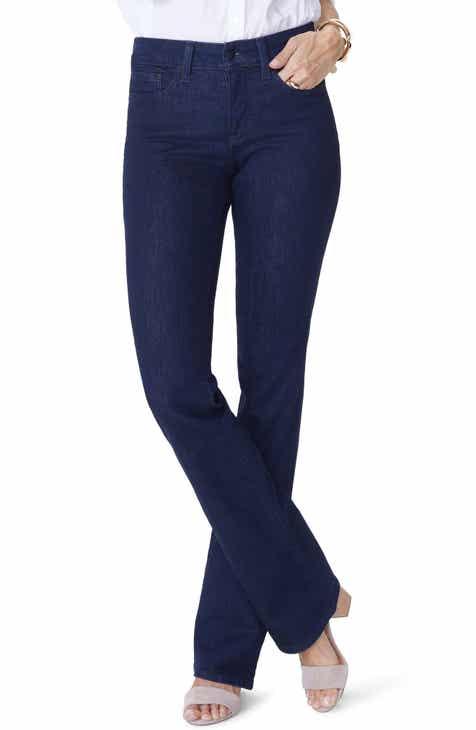895a0936941ab NYDJ Barbara Bootcut Jeans (Rinse) (Short)