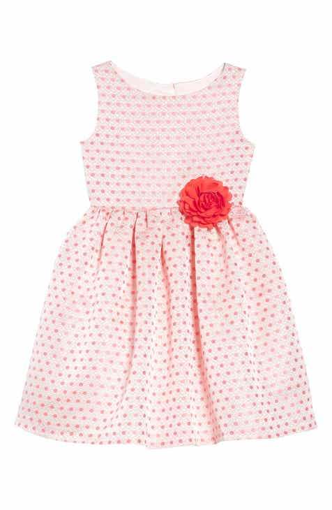 b9537ad6afbb Frais Metallic Dot Party Dress (Toddler Girls, Little Girls & Big Girls)