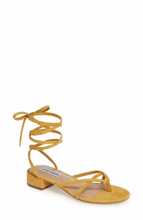 6f40c58469fb Steve Madden Cherie Lace-Up Sandal (Women)