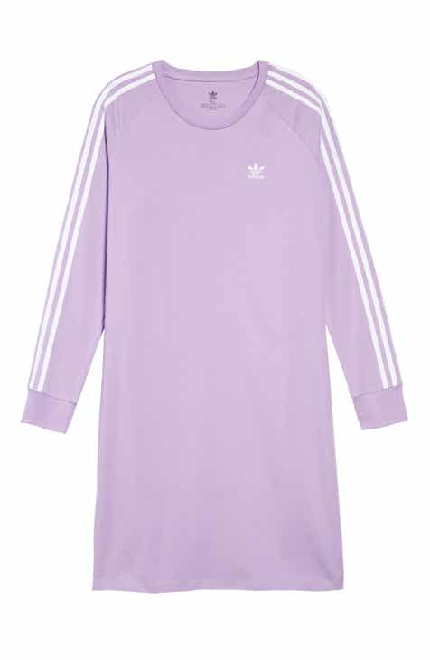 446d20484 adidas Originals 3-Stripes T-Shirt Dress (Big Girls)