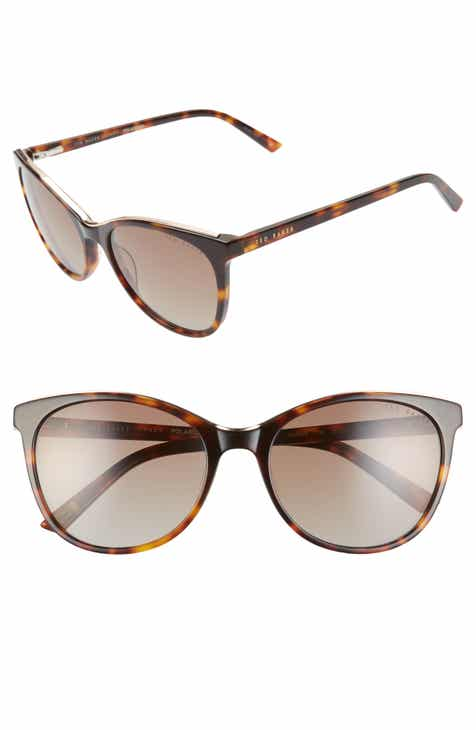 ce1853569f0f Ted Baker London 55mm Polarized Cat Eye Sunglasses
