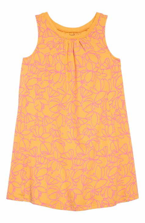 307cbcc634a Tea Collection Print Trapeze Dress (Toddler Girls