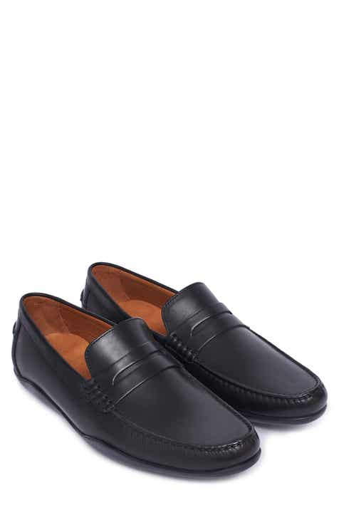 9153e197132 Harrys of London Basel Penny Loafer (Men).  450.00. Product Image. BLACK  LEATHER  BROWN LEATHER
