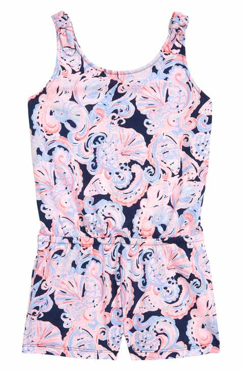af040704e7 Lilly Pulitzer® Cady Romper (Toddler Girls, Little Girls & Big Girls)