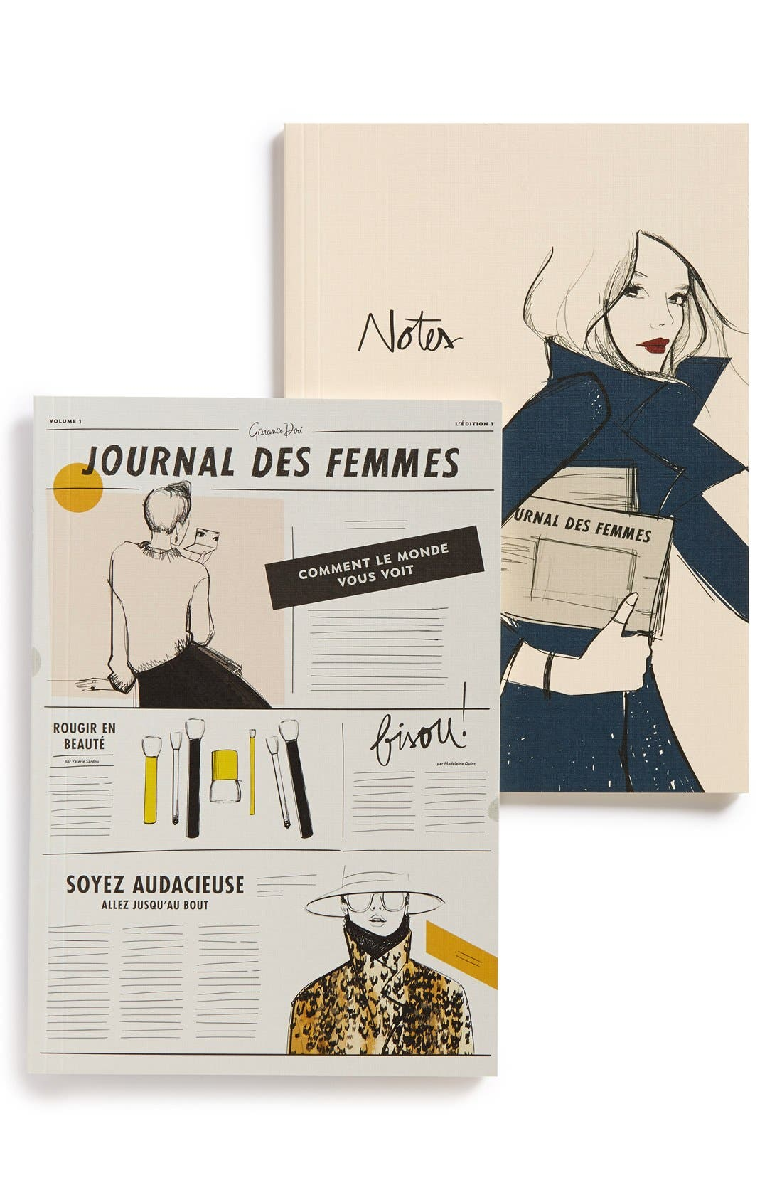 Alternate Image 1 Selected - Rifle Paper Co. x Garance Doré 'Go' Notebooks (Set of 2)