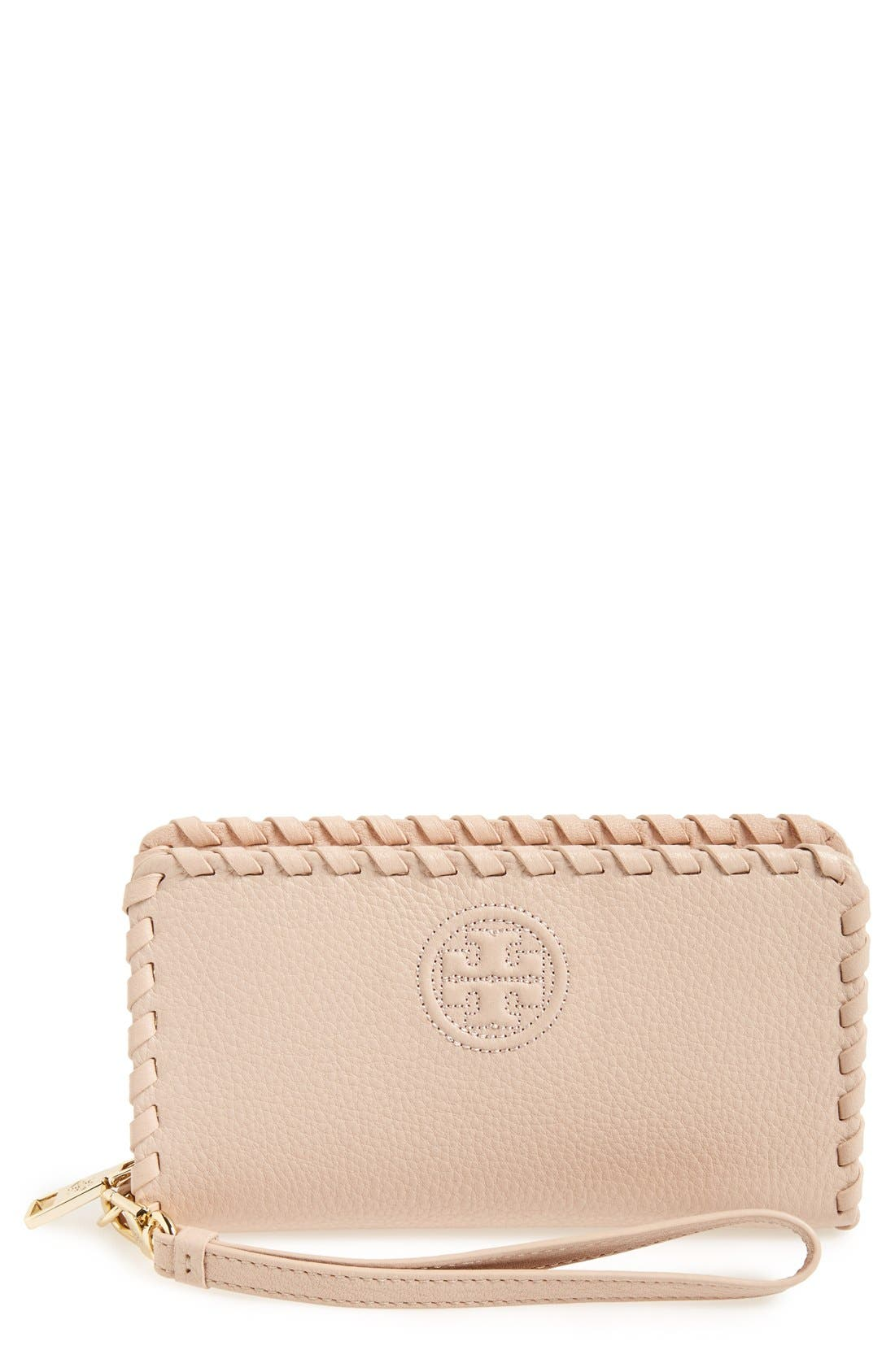 Alternate Image 1 Selected - Tory Burch 'Marion' Smartphone Wristlet