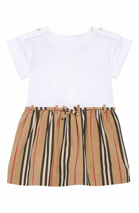 0ebee4459 Burberry Rhonda Stripe Dress (Baby)