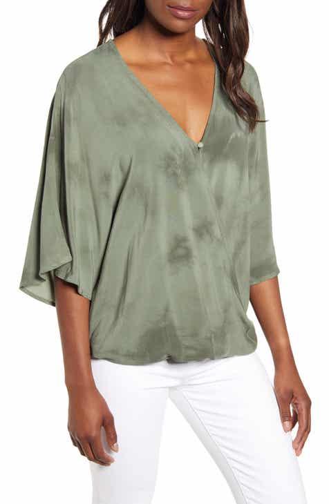 0b6d37b4d71 drape front blouse