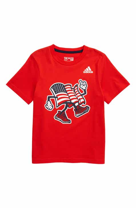 f6f543278c0 adidas USA Graphic T-Shirt (Toddler Boys   Little Boys)