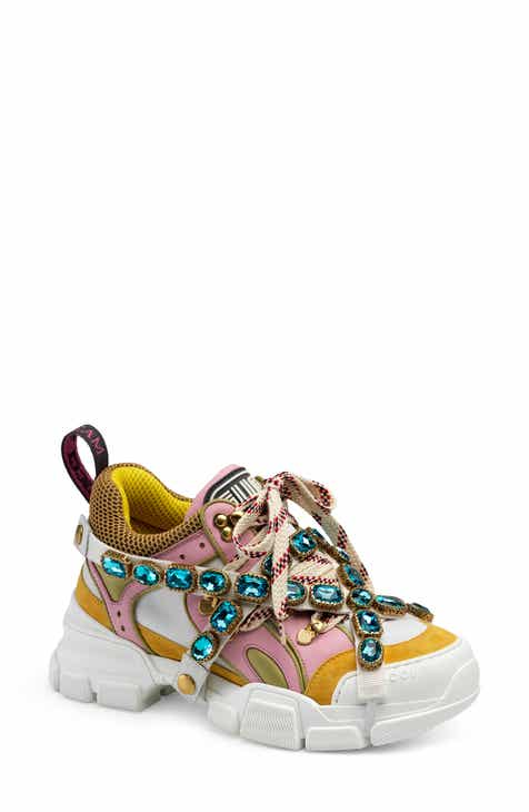 c45d03151 Gucci Flashtrek Jewel Embellished Sneaker (Women)