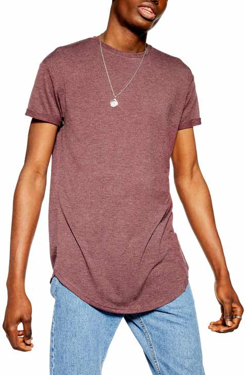 cd38aa40 Topman Scotty Longline Slim Fit T-Shirt