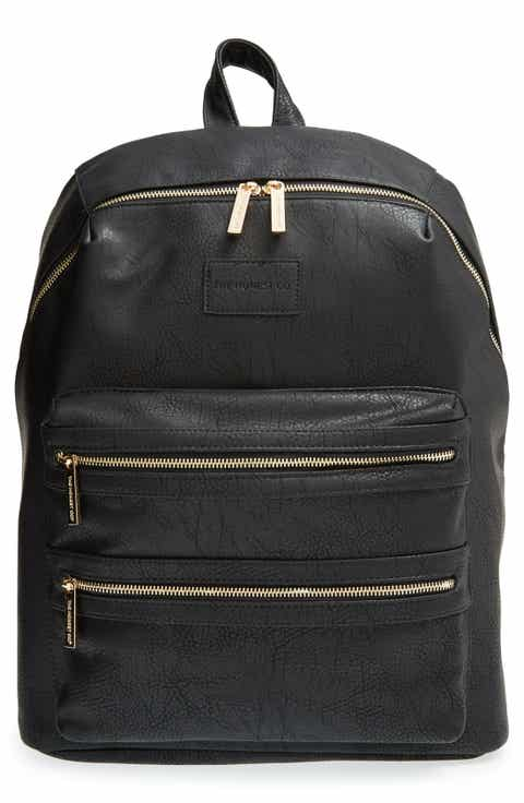 Baby girl gifts nordstrom the honest company city faux leather diaper backpack negle Gallery