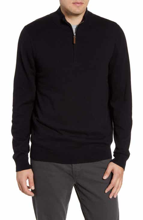 ca9e795e613b9d Nordstrom Men's Shop Half Zip Cotton & Cashmere Pullover (Regular & Tall)